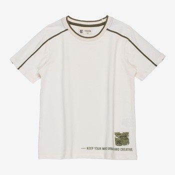Camiseta Infantil Masculina Filete Verde Militar youccie