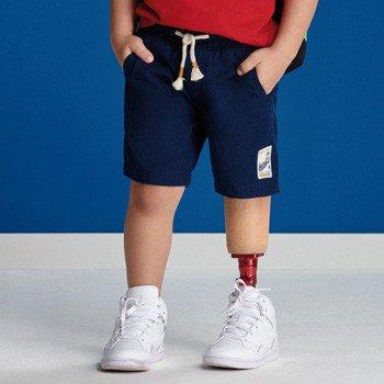 Bermuda Infantil Masculina de Sarja Azul youccie
