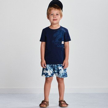 Conjunto Infantil Masculino Surf Azul youccie