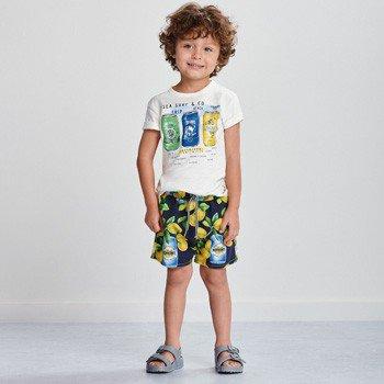 Conjunto Infantil Masculino Limonata Branco youccie