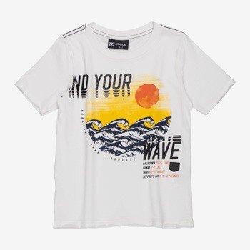 Camiseta Infantil Masculino Waves Branco youccie