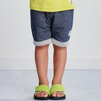 Bermuda Infantil Masculina de Moletom Jeans youccie