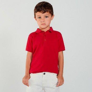 Polo Infantil Piquet Vermelha youccie