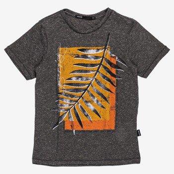 Camiseta Infantil Masculino Folhagem Cinza youccie