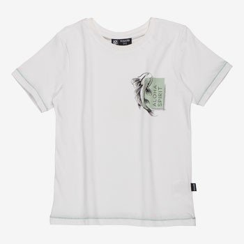 Camiseta Branca Infantil Aloha youccie D0187 detalhe