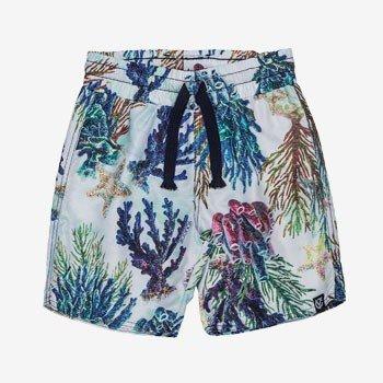 Shorts Infantil Estampa Fundo do Mar Youccie detalhe
