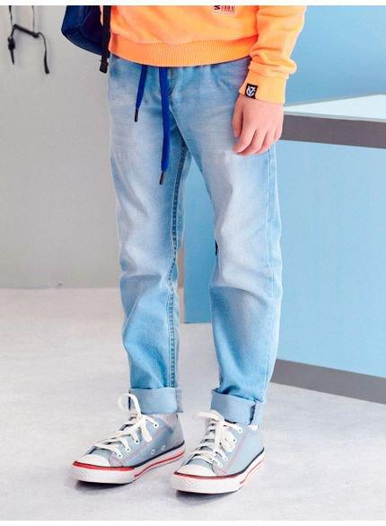 calca jeans clara infantil menino youccie