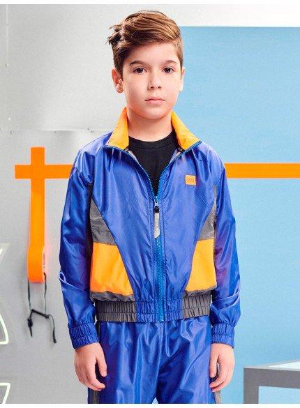 jaqueta corta vento sport infantil masculino youccie