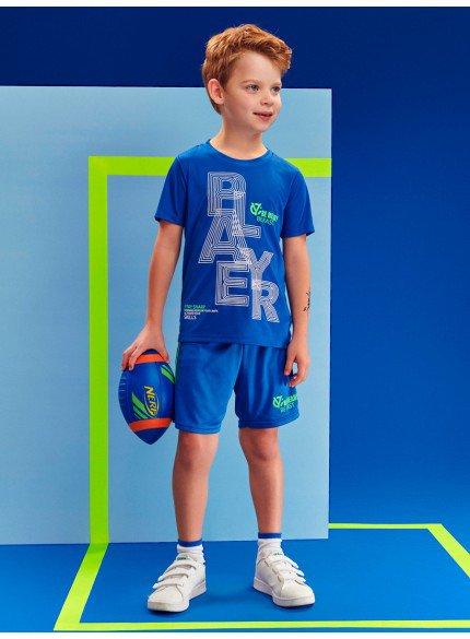 conjunto sport azul infantil masculino youccie
