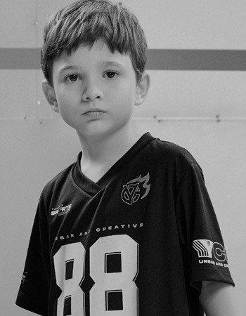 camiseta infantil sport preta 88 youccie d0424