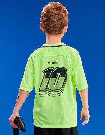 Camisa 10 Sport Verde Neon Youccie D0416