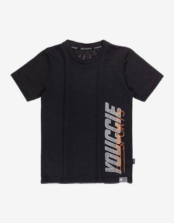 camiseta infantil sport basica preta youccie d0427