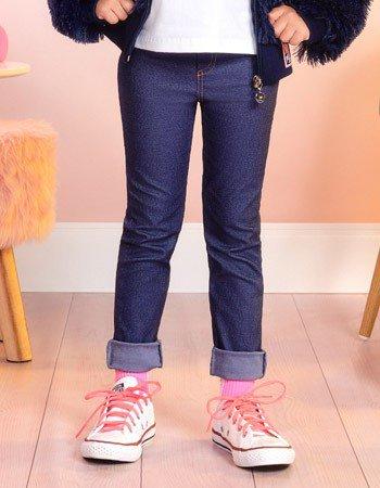 Calca Legging de Montaria Infantil Feminina Momi F8413