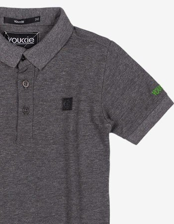 Camisa Polo Mescla Infantil Menino Youccie D0539