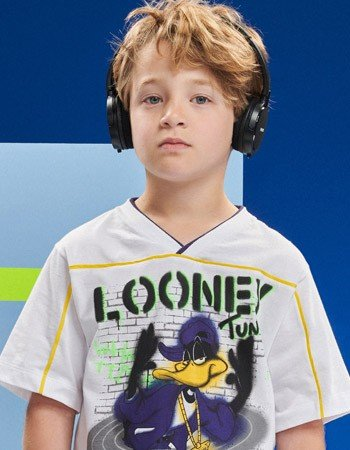 Camiseta Infantil Patolino Looney Tunes Youccie D0408