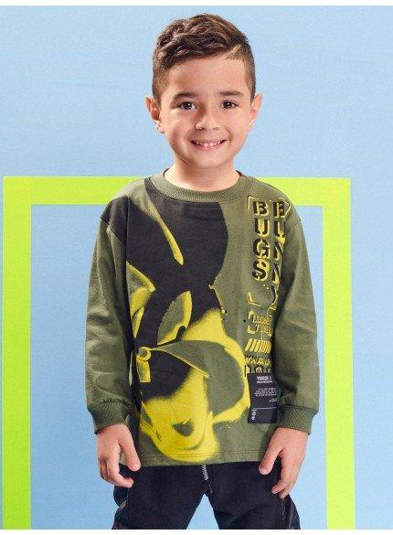 casaco de moletom pernalonga infantil menino
