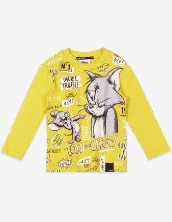 Camiseta Manga Longa Tom e Jerry Youccie I0288