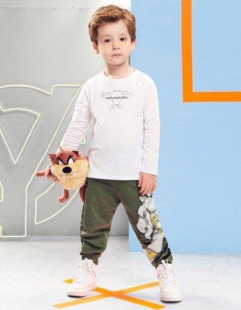 Conjunto Infantil Menino Taz Mania Youccie I0401