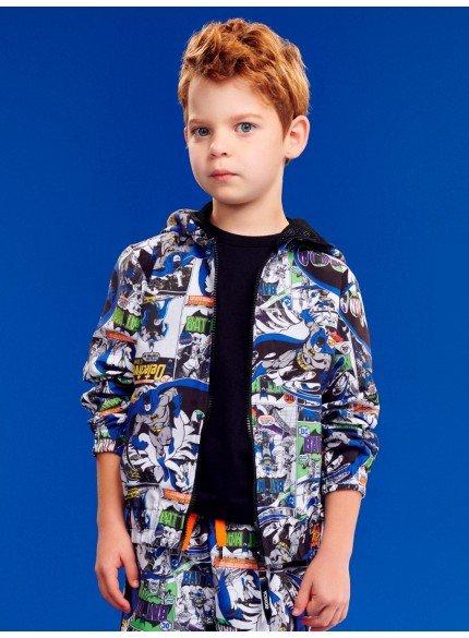 jaqueta infantil do batman